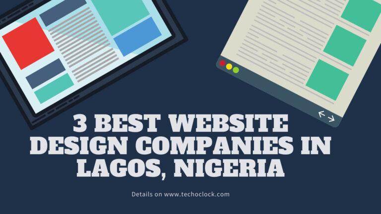 Best Website Designers in Lagos
